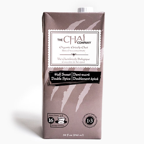 Chai bio demi-sucre - The chai company