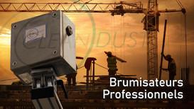 Réalisation Commerciale pour la Marque de Brumisation Professionnelle Cleandust