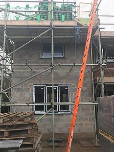 Double extension Blockwork roe green 5