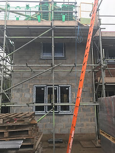 Double extension Blockwork roe green 5