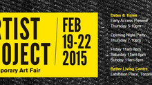 The  Artist Project's jury has selected me to join the Contemporary Art Fair