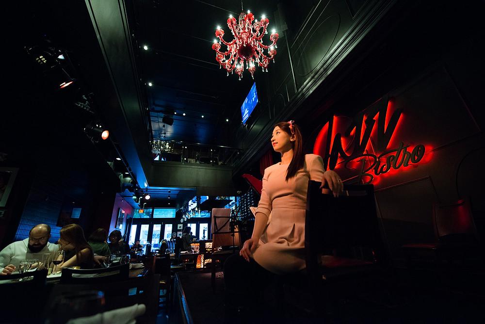 Sophia Gao at Jazz Bistro