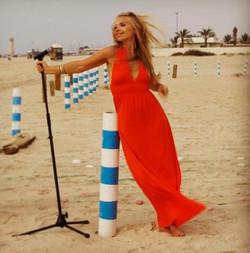 Singer Dubai - Johanna Sandell