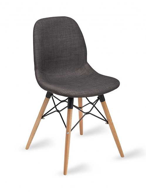Shoreditch Chair/Timber Base -Upholstered
