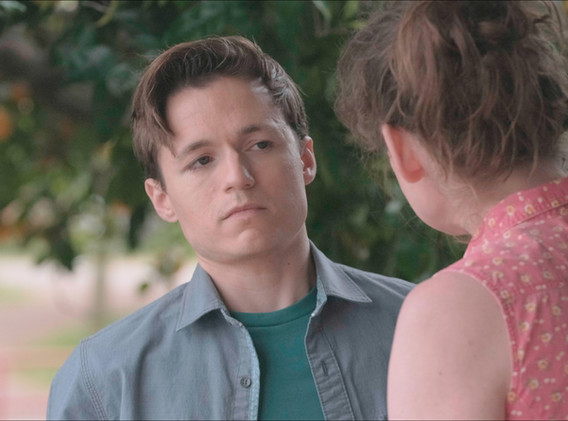 June confronts her son, Clark.