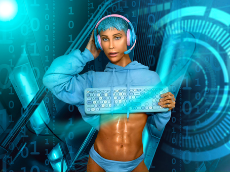 Santi Storm unveils radiant new single 'Cyber Boy'