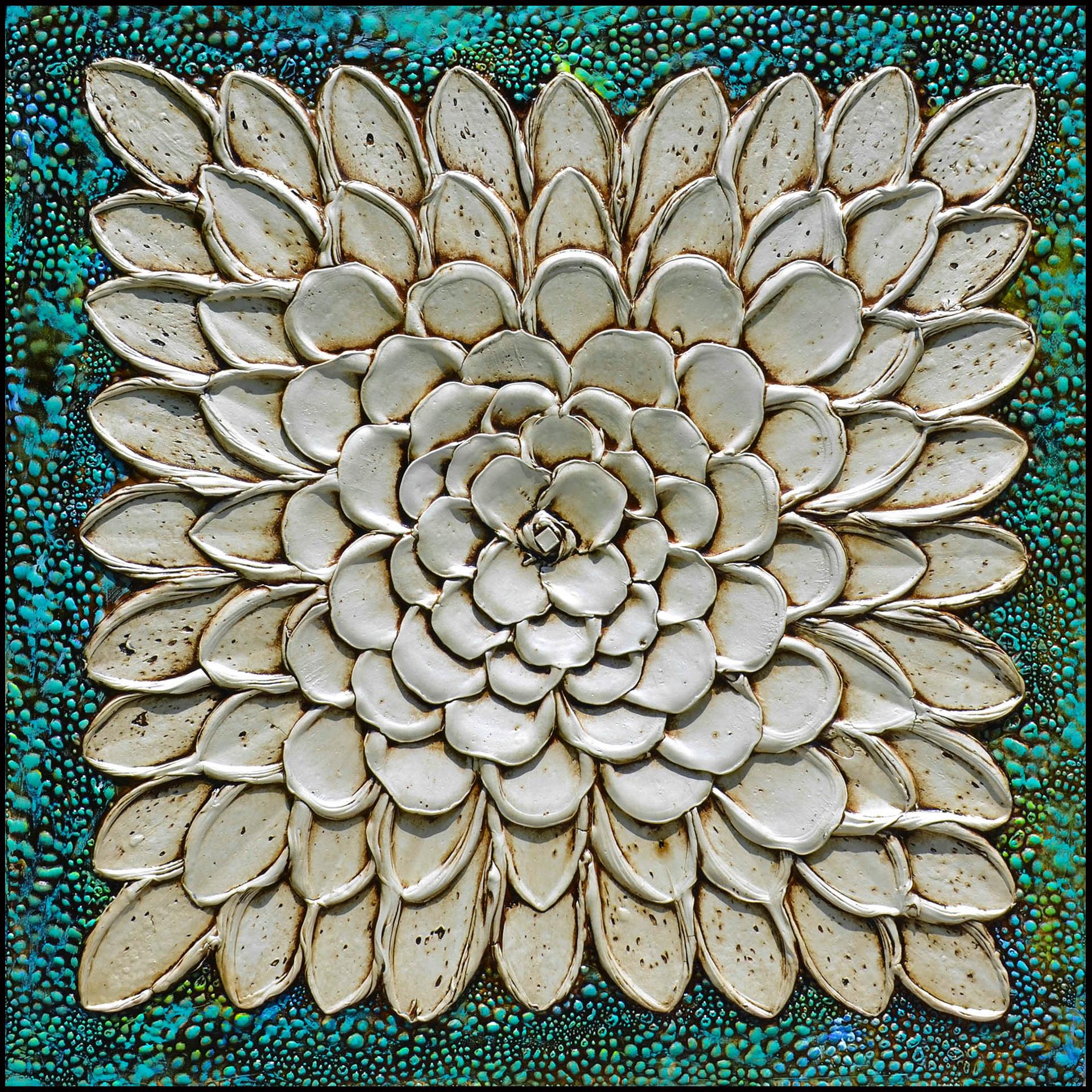 Flor Cascada Verde