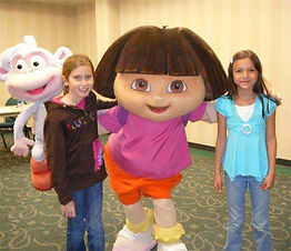Idea Girl Advertising Promotion Dora The