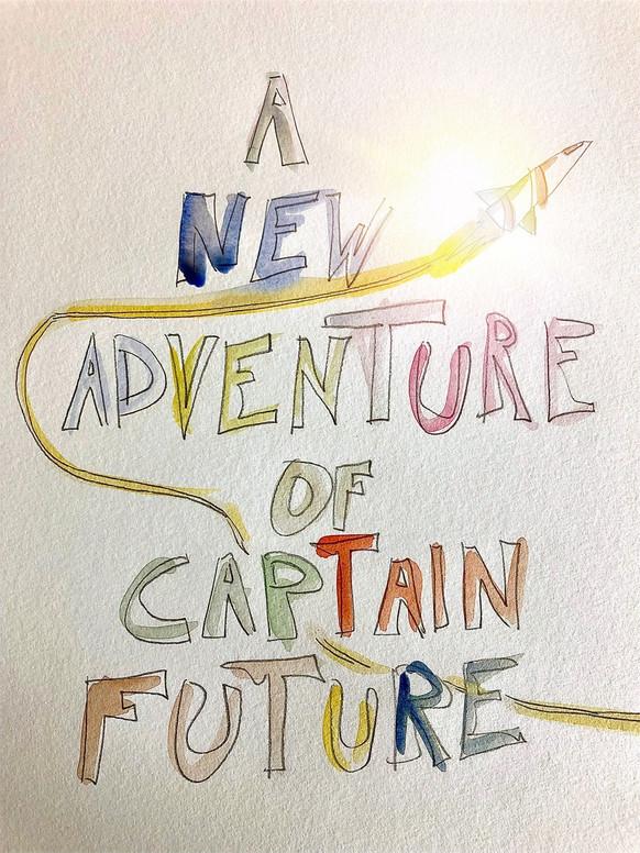 A NEW ADVENTURE OF CAPTAIN FUTURE Space opera in 15 capitoli di Enrico Gabrielli