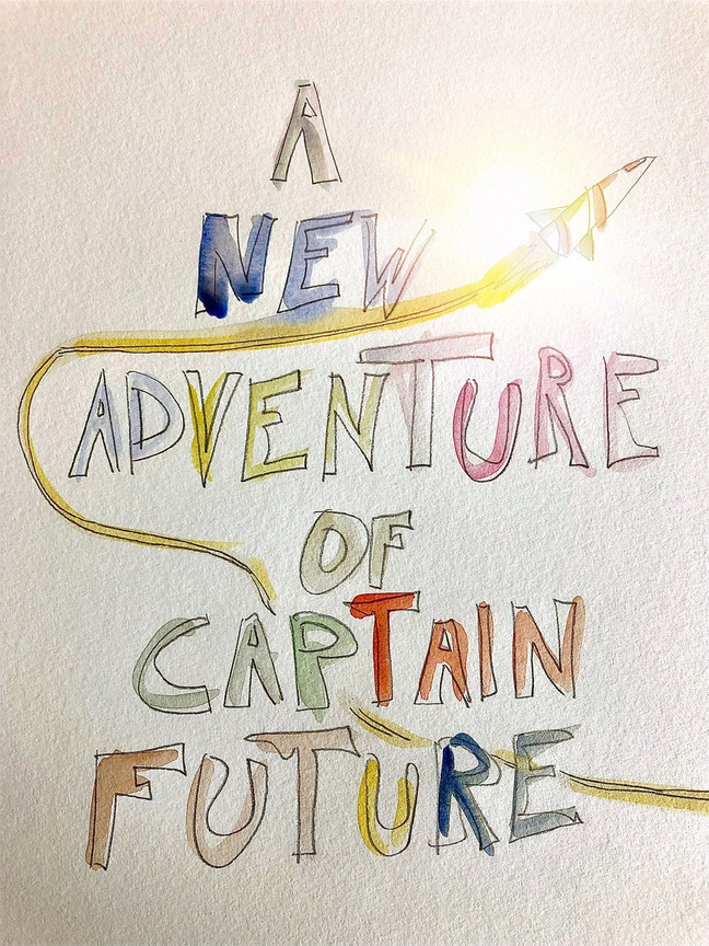 A NEW ADVENTURE OF CAPTAIN FUTURE Space opera in 15 capitoli di Enrico Gabrielli