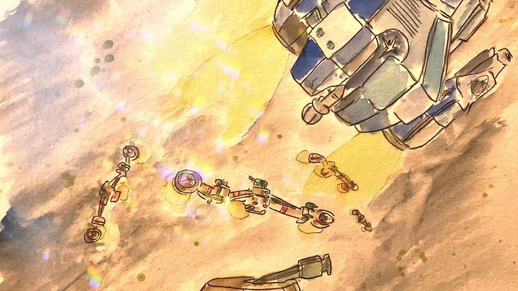 """A New Adventure of Captain Future"" CAPITOLO XII: rendez-vous"