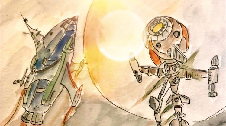 """A New Adventure of Captain Future"" CAPITOLO X: COMET vs COMET"