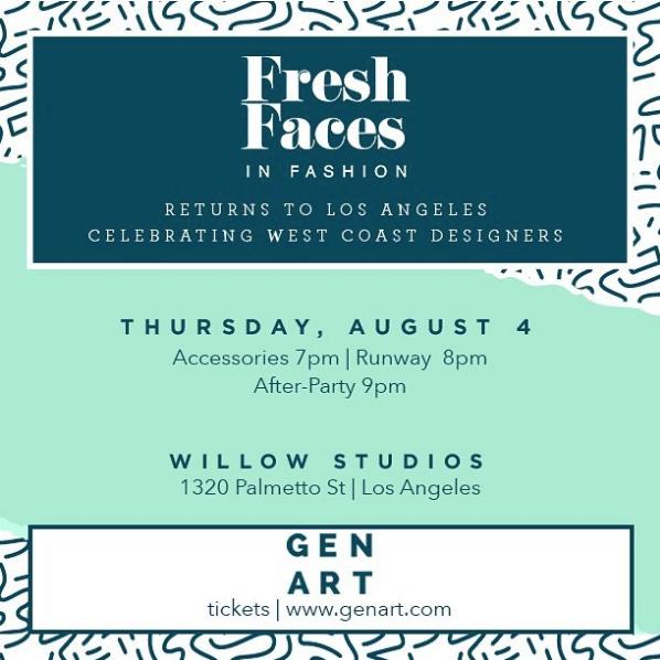 GEN ART Fresh Faces in Fashion