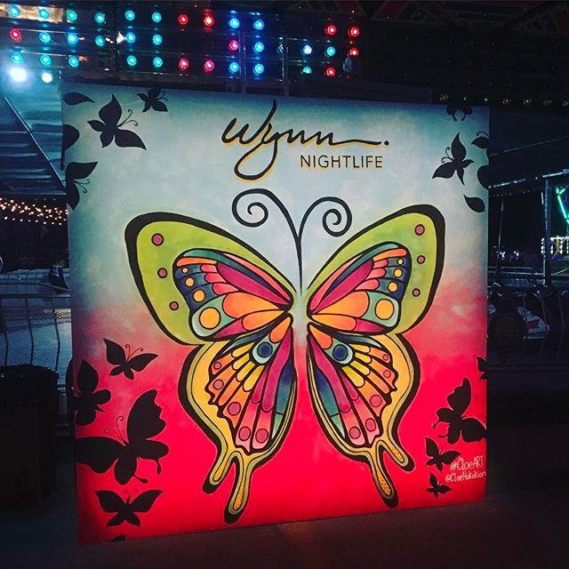 #CloeART x Wynn Hotel x Neon Carnival Coachella 2017
