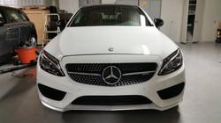 Mercendes Benz headlight restoration