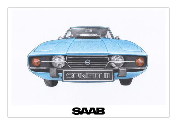 SAAB Sonett True Blue
