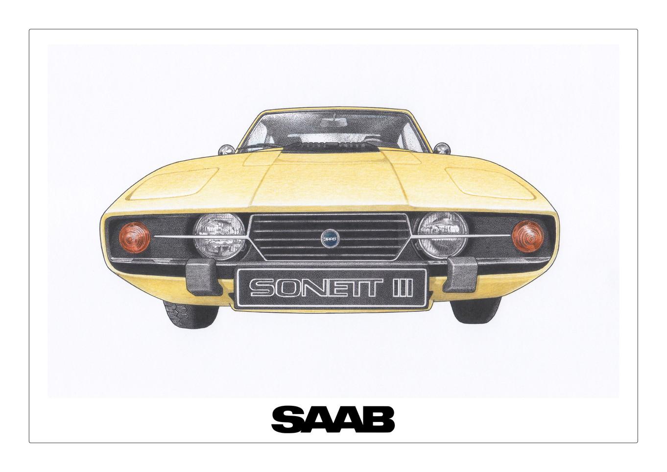 SAAB Sonett Mellow Yellow