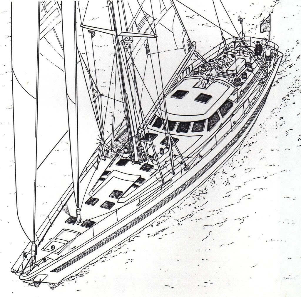 Sloop illustration