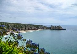 Porthcurno Beach, Cornwall UK
