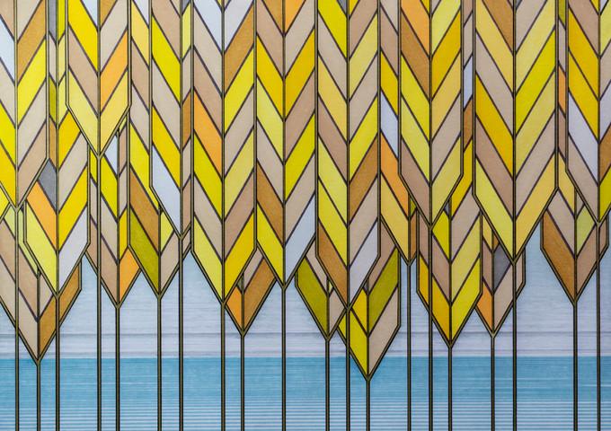 Art Deco # 5 'Harvest' illustration