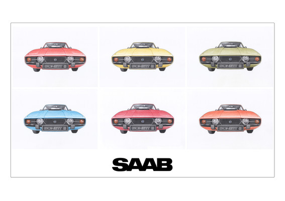 SAAB Sonett Colours illustration
