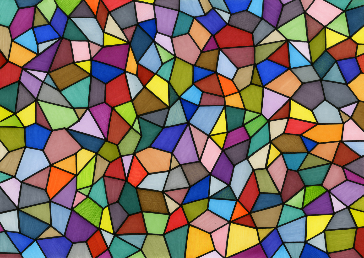 Stained Glass #I illustration