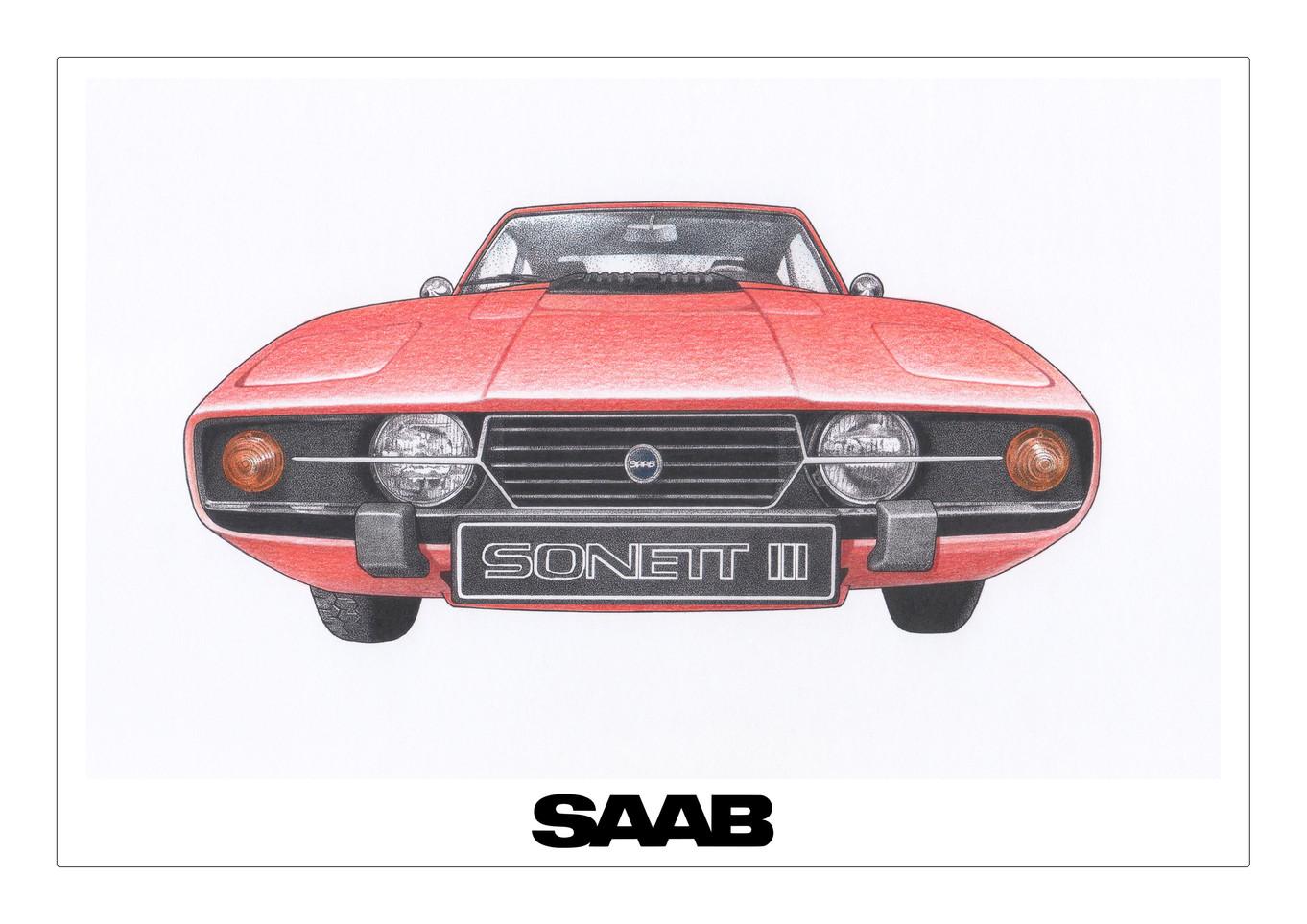 SAAB Sonett Baja Red