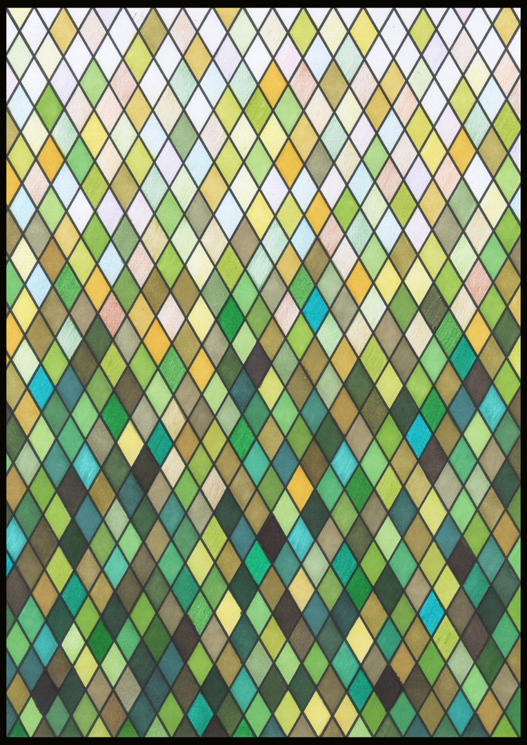 Stained Glass IV illustration