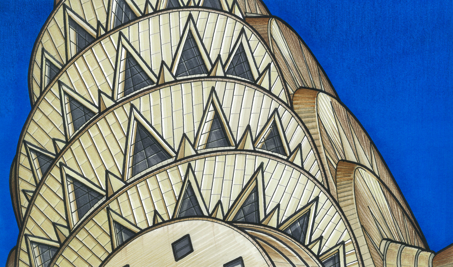 Chrysler Building illustration