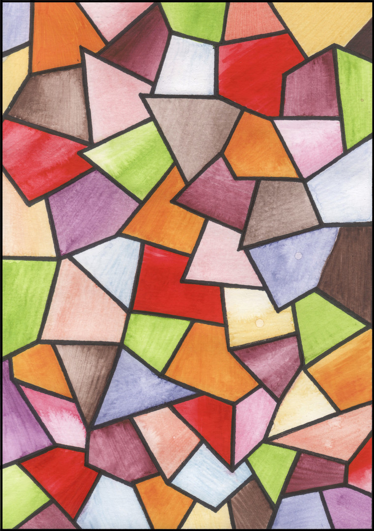 Stained Glass II illustration