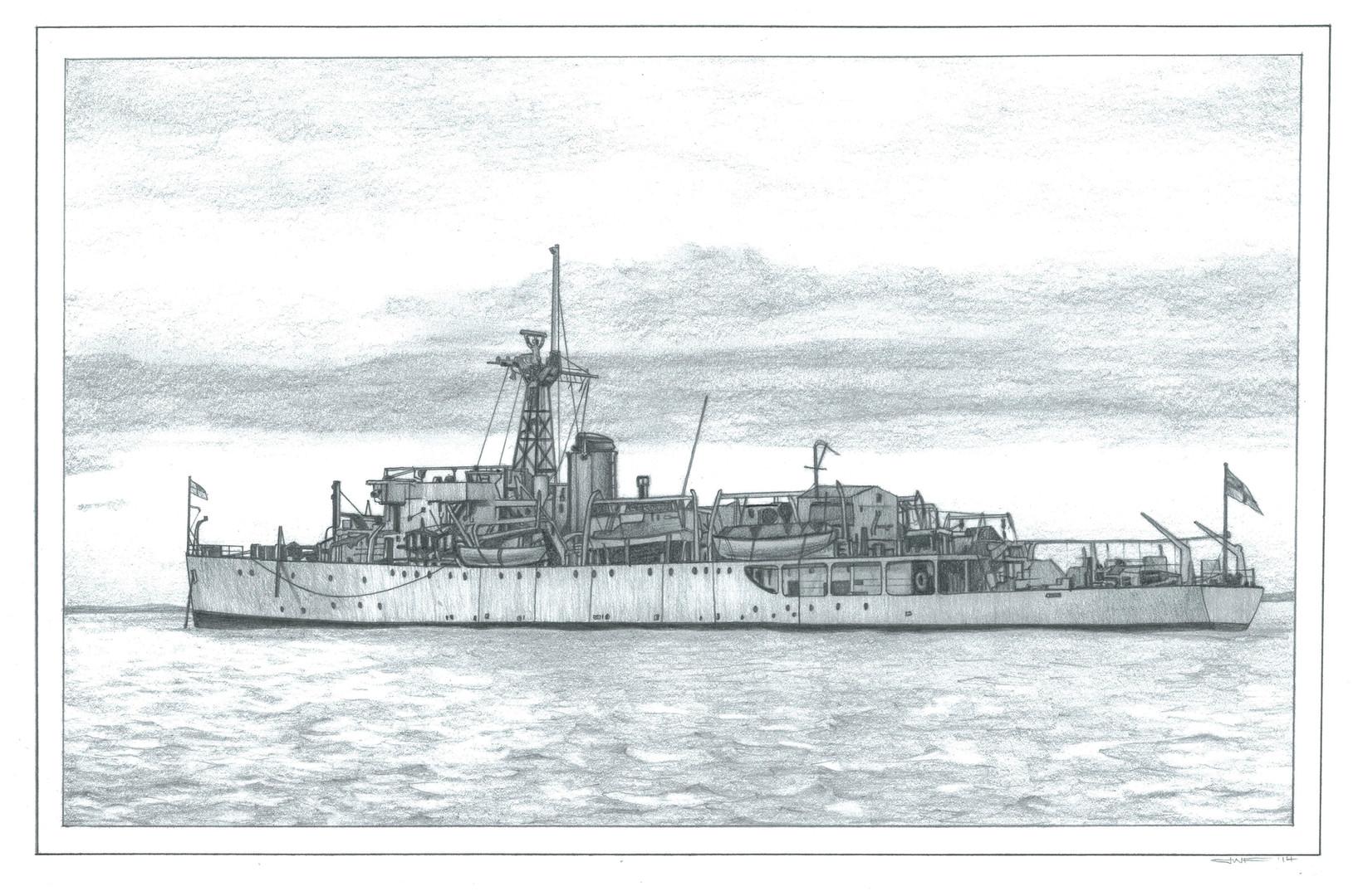HMS Owen illustration