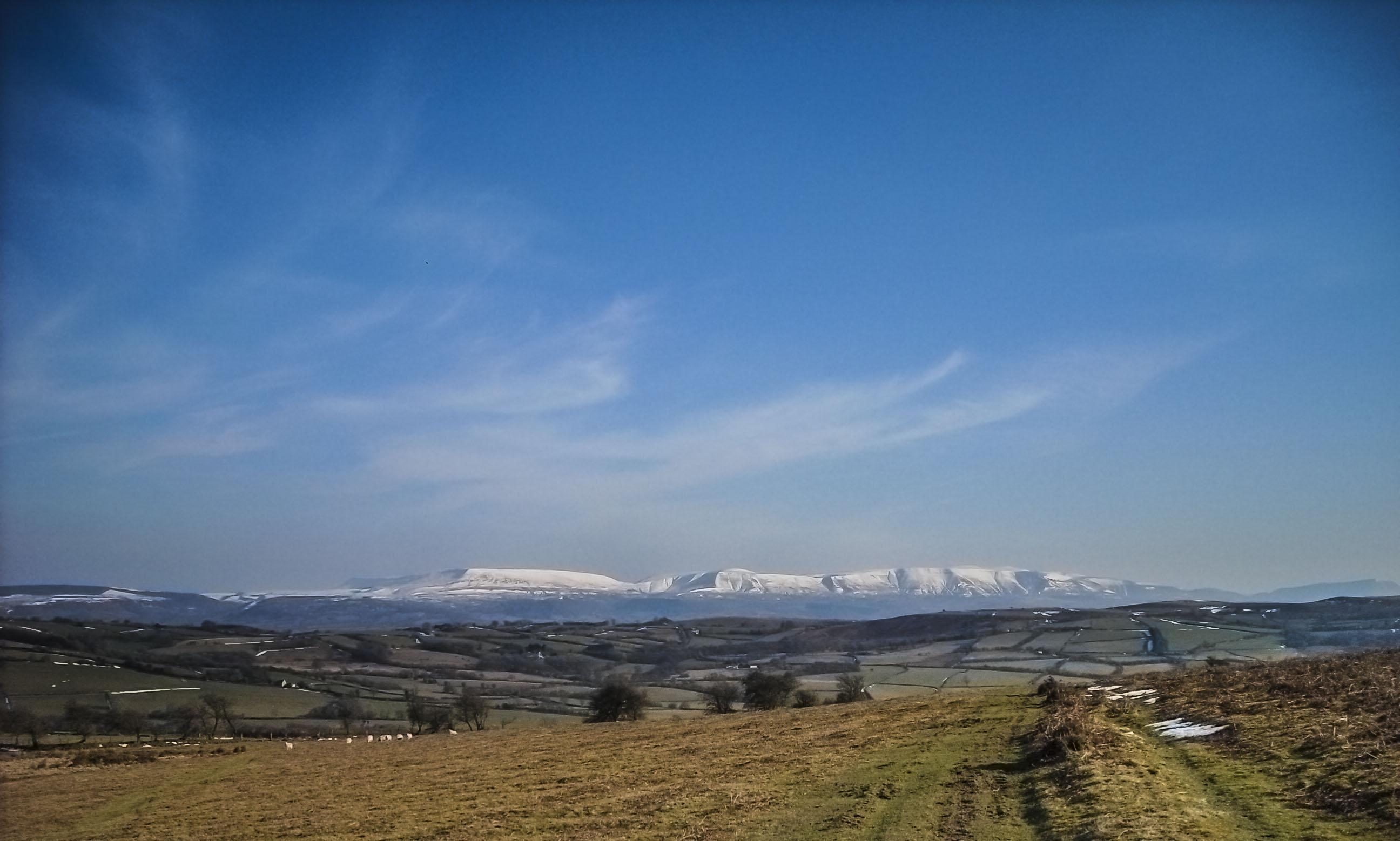 Black Mountains Snow
