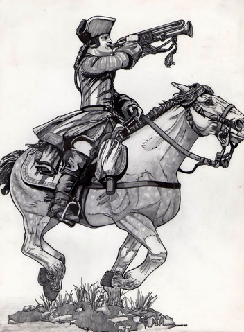 'Cavalry' illustration