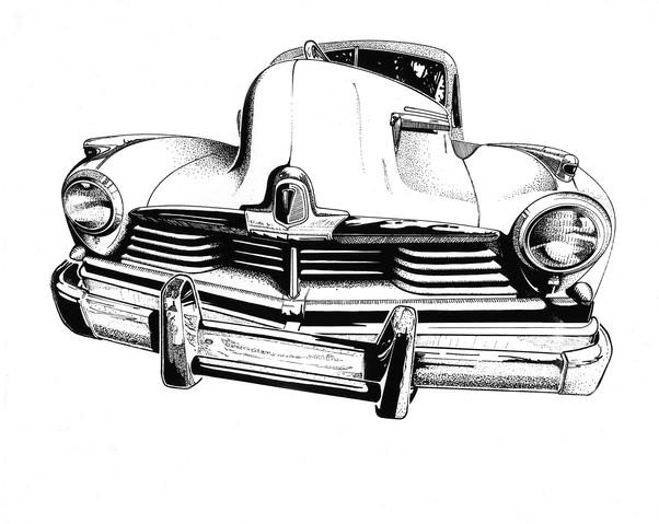 Hudson pick-up illustration