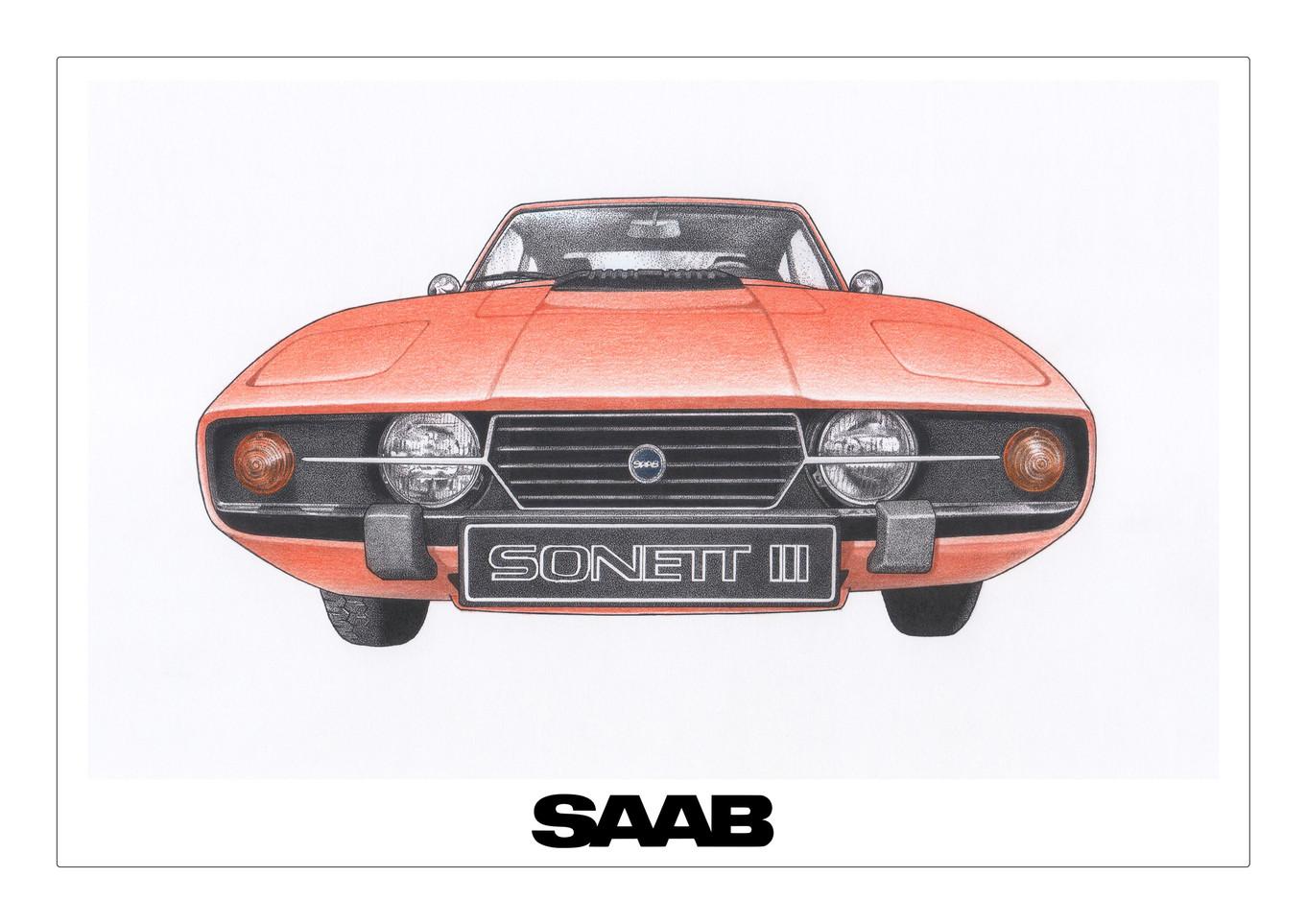 SAAB Sonett Burnt Orange