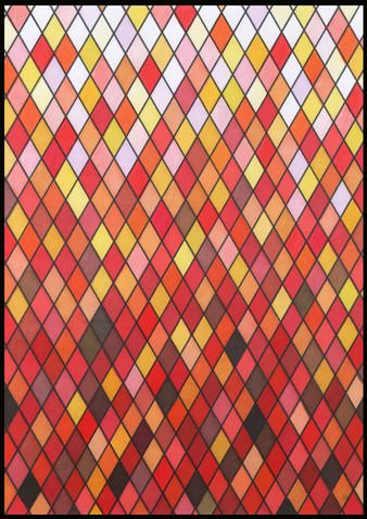 Stained Glass V illustration