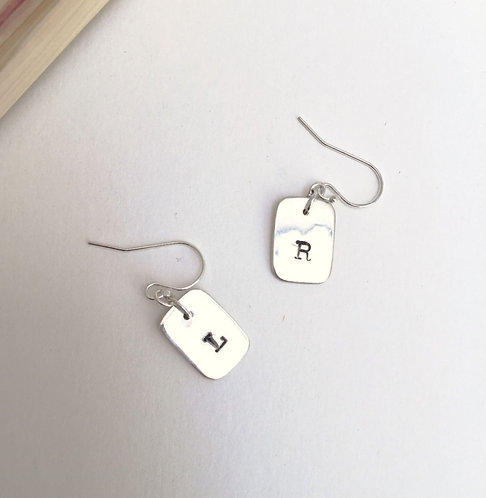 Left and Right Earrings