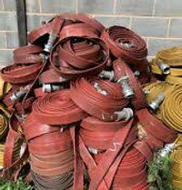 Used fire hoses