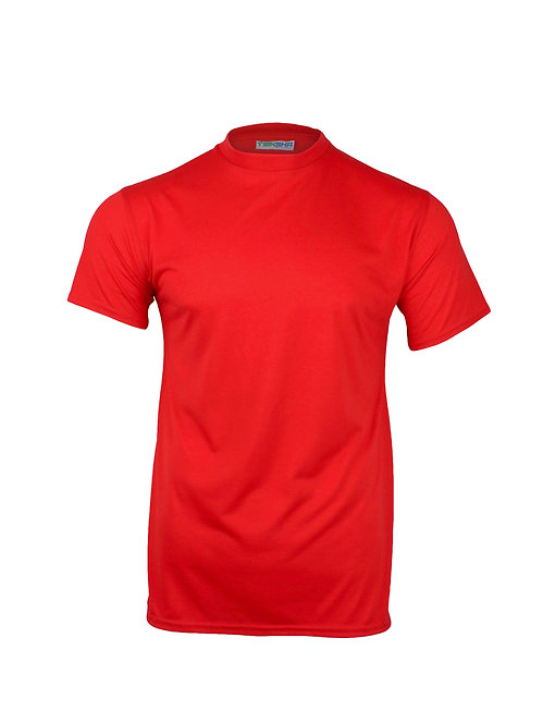 Plain Unisex T-Shirt in Red