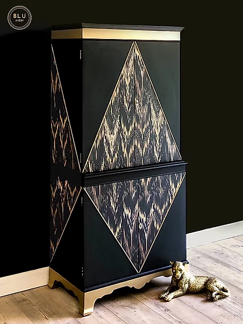 Black Diamond Cocktail Cabinet