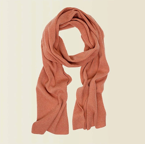 Long Cashmere Scarf in Sugared Almond