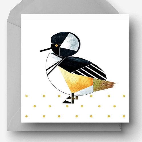 Hooded Merganser Greetings Card