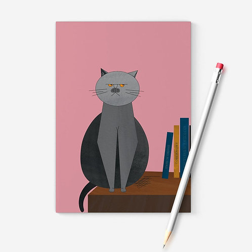 Grumpy Cat A6 Notebook