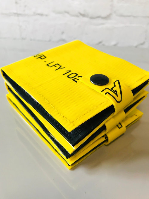 Irrigation Hose Wallet in Yellow