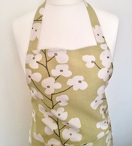 Cotton Print Apron