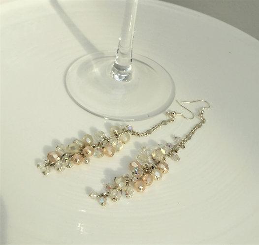 Diamante Bead Earrings