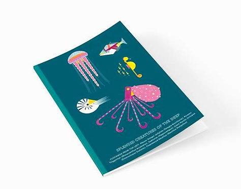 Splendid Sea Creatures A5 Notebook