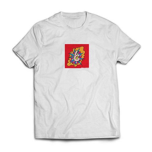 White Pop Art T-shirt