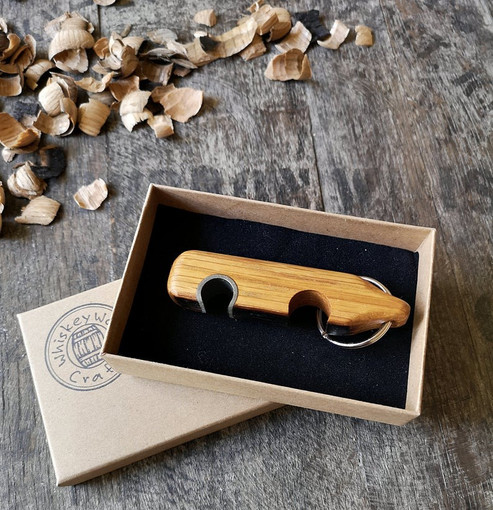 Oak bottle opener gift box