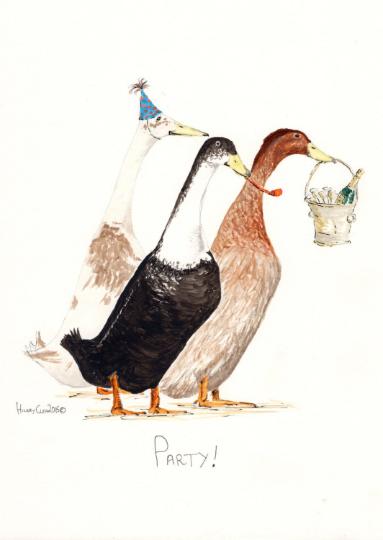 Party Ducks Card
